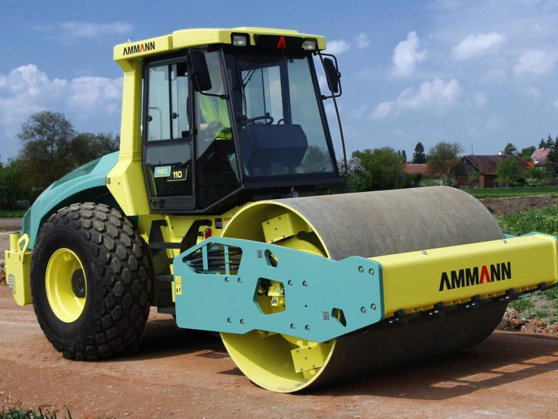 Ammann ASC 110 TIER 4i Single Drum Roller - 12 tonne
