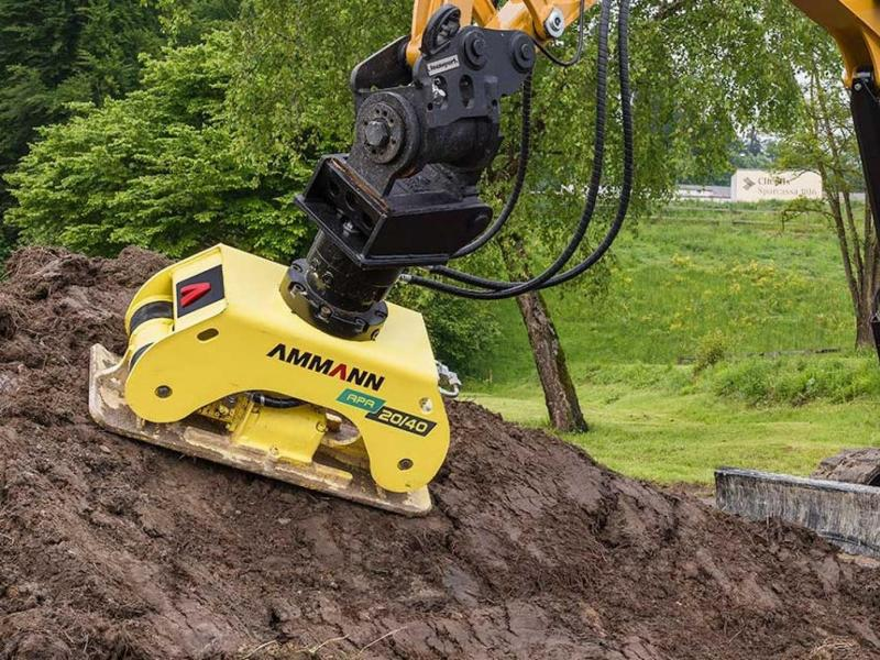 Ammann APA 20/30 Mounted Compactor for used on excavators 2 to 5 tonnes